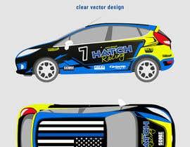 #62 для Rally Car Vehicle Wrap от rozq