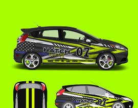 nº 45 pour Rally Car Vehicle Wrap par ravi05july