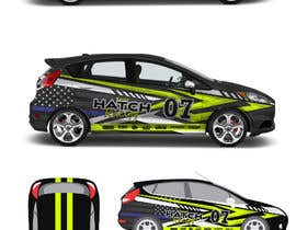 nº 51 pour Rally Car Vehicle Wrap par ravi05july
