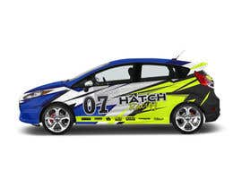 #54 для Rally Car Vehicle Wrap от ravi05july