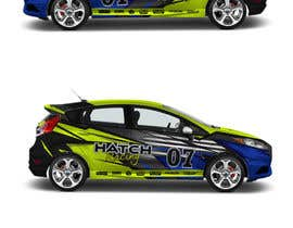 nº 74 pour Rally Car Vehicle Wrap par ravi05july