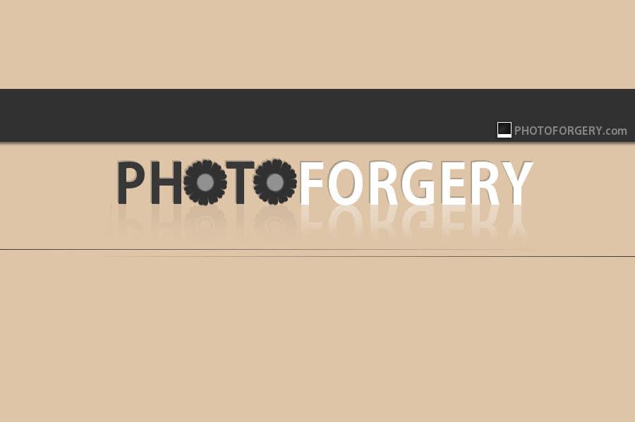 Proposition n°69 du concours Logo Design for photoforgery.com