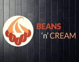 """asikm tarafından Design a Logo Design  for an Upcoming Bakery to be named as 'BEANS N CREAM"""" with complete Visual Language(Typography, Colors-Palette) için no 130"""