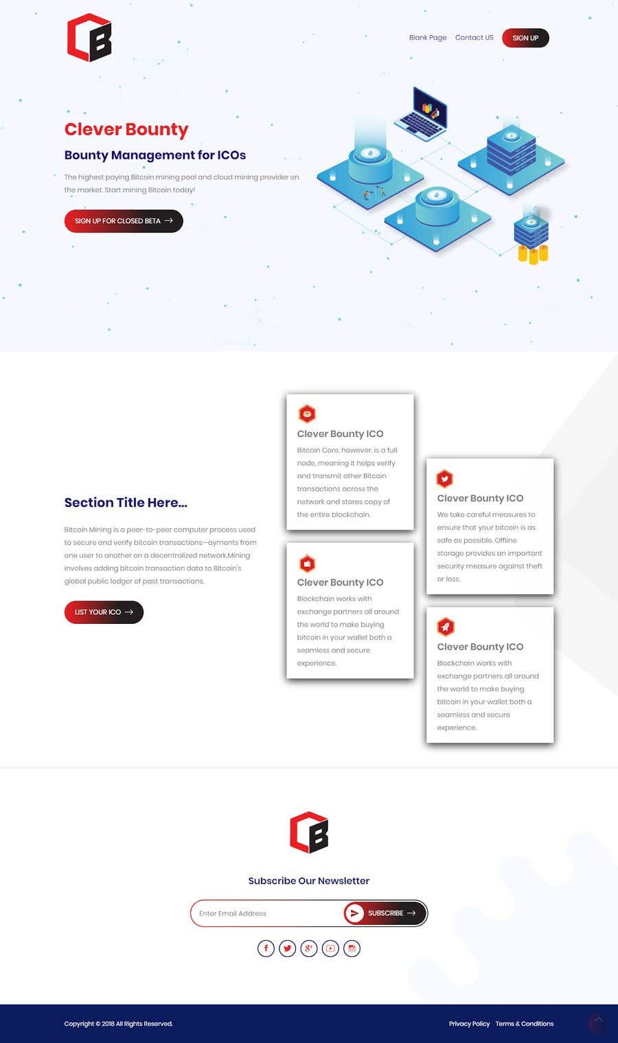Entry 30 By Shovoncse For Redesign Website Template Extra To