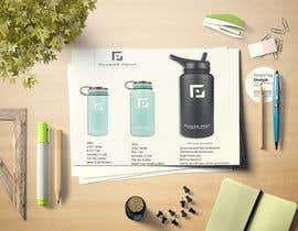 #10 for product Infograph for a water bottle by AfzlDesign