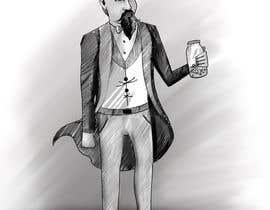 nº 6 pour Line drawing of John Landis Mason. par tdartsz