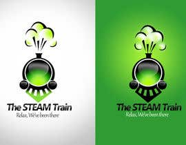 #248 dla Logo Design for, THE STEAM TRAIN. Relax, we've been there przez twindesigner
