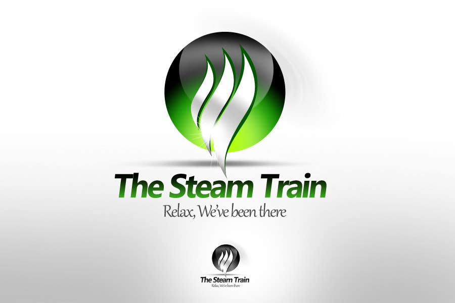 Contest Entry #164 for Logo Design for, THE STEAM TRAIN. Relax, we've been there