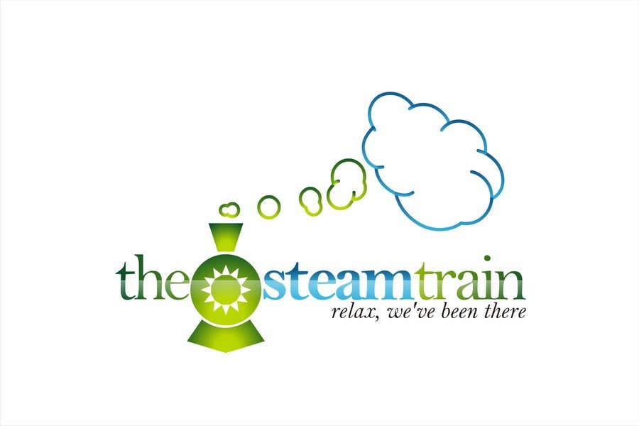 Contest Entry #276 for Logo Design for, THE STEAM TRAIN. Relax, we've been there