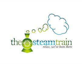 realdreemz tarafından Logo Design for, THE STEAM TRAIN. Relax, we've been there için no 276