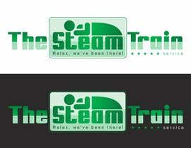 #101 untuk Logo Design for, THE STEAM TRAIN. Relax, we've been there oleh dimitarstoykov
