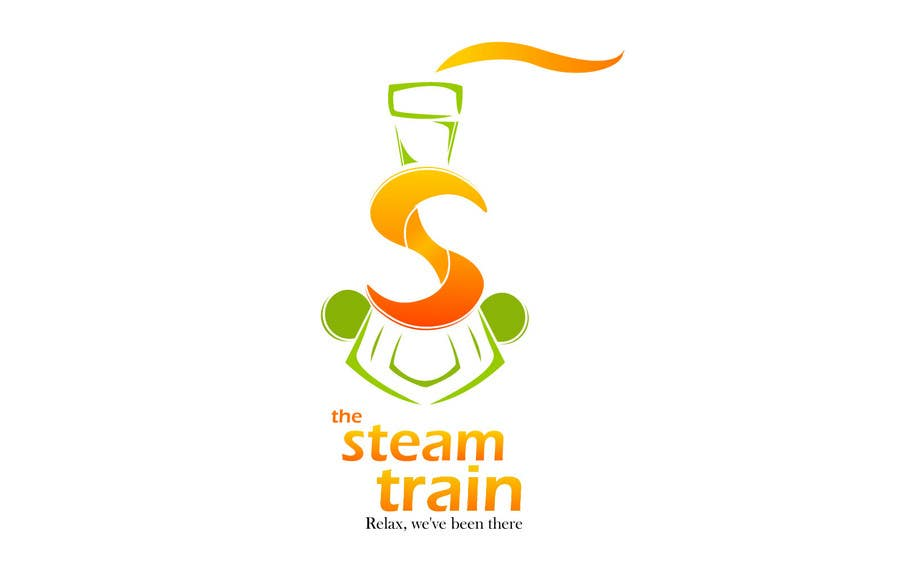 Contest Entry #313 for Logo Design for, THE STEAM TRAIN. Relax, we've been there
