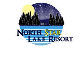 tedatkinson123 tarafından Logo Design for A northwoods resort in Minnesota USA called North Star Lake Resort için no 23