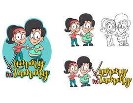 #11 untuk Drawing 2 cartoon characters oleh Attebasile