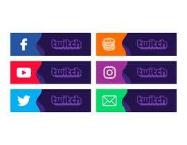 #16 para Design some banner icons for Twitch.Tv por meberrybell