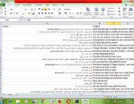 Nro 42 kilpailuun Arabic Translation käyttäjältä amirahabashy75