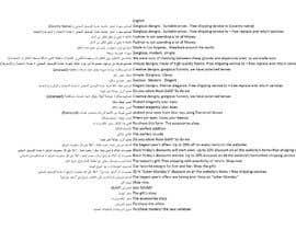 Nro 43 kilpailuun Arabic Translation käyttäjältä mary88br