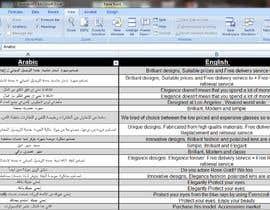 Nro 37 kilpailuun Arabic Translation käyttäjältä MrFadyMelad