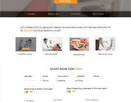 nº 38 pour Design my Landing page + Function Design par mnsiddik84