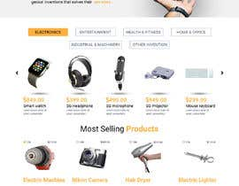 #21 for ecommerce website home page redesign af mdziakhan