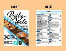 Nro 16 kilpailuun Create a double sided full colour A5 takeout food menu. käyttäjältä andjelakast
