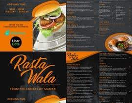 Nro 14 kilpailuun Create a double sided full colour A5 takeout food menu. käyttäjältä ktamontalbo