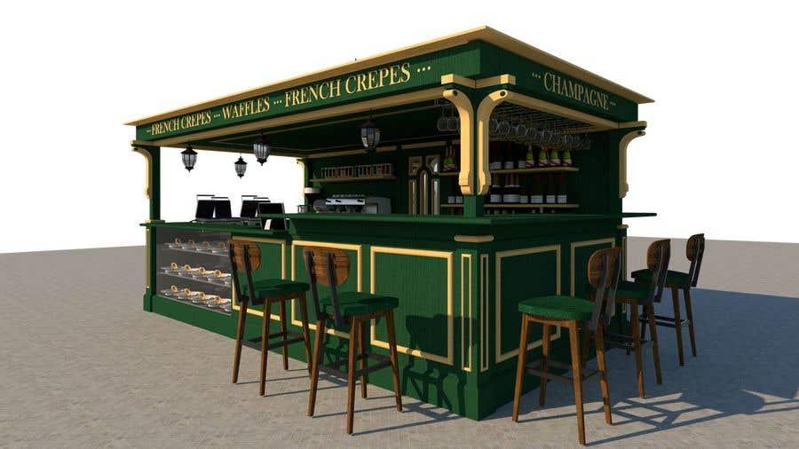 Entry #22 by pavelleonua for Design a Food Kiosk   Freelancer