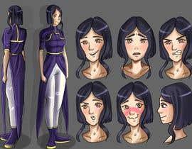 Nro 26 kilpailuun Experienced, illustrator needed for 2D Character turnaround + Expression sheet käyttäjältä serenaabraham