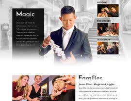 #37 for Build a new website for Dan Chan Master Magician by greenarrowinfo