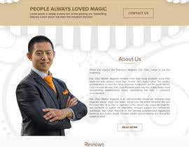 #24 for Build a new website for Dan Chan Master Magician by MaxoGraphics