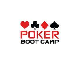Nro 51 kilpailuun Logo Design - Poker Boot Camp käyttäjältä MoamenAhmedAshra