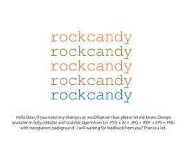#547 untuk Rock Candy Logo and Brand Identity oleh suklabg