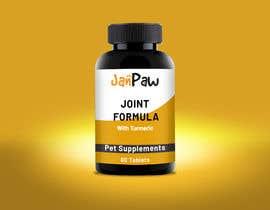 #134 untuk Label Design for Pet Vitamin Brand - JanPaw oleh rajitfreelance