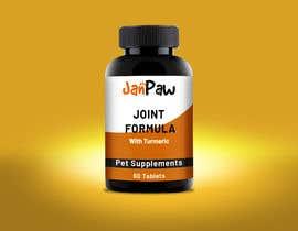 #135 untuk Label Design for Pet Vitamin Brand - JanPaw oleh rajitfreelance