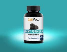 #145 untuk Label Design for Pet Vitamin Brand - JanPaw oleh rajitfreelance