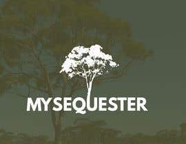 "#112 untuk Logo for small scale carbon offsetting application called ""Myseqester"" oleh jesusponce19"