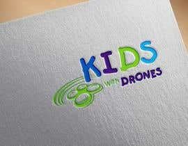 #35 Kids With Drones Logo Design részére flyhy által