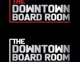 "#17 untuk Need Crisp/Clean Business logo designed for cleint ""The Downtown Board Room"" oleh RomanZab"