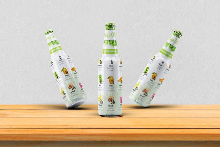 Kilpailutyö #41 kilpailussa drink product design about with many background