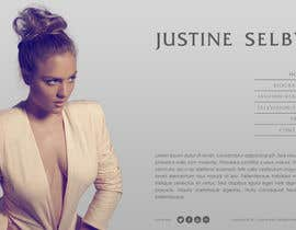 #386 untuk Website Design for International Model oleh WebofPixels