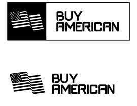 """Nro 77 kilpailuun Design """"Buy American"""" Logo käyttäjältä zinkodesign"""