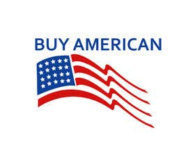 """Nro 216 kilpailuun Design """"Buy American"""" Logo käyttäjältä rifat007r"""