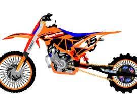 nº 5 pour Cartoon drawing of the orange bike made similar to the green one par ritasobreiro
