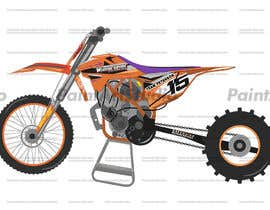 nº 8 pour Cartoon drawing of the orange bike made similar to the green one par Shtofff