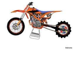 nº 14 pour Cartoon drawing of the orange bike made similar to the green one par letindorko2