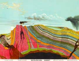 #1 for Create A Graphic of a Geological Cross Section for a Glass Partition by cerenowinfield