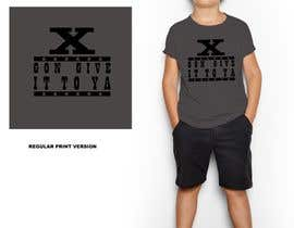 #18 untuk Create a design which will be applied to a t-shirt oleh ShernanCMijares