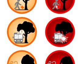 #22 para 6 custom vector graphic icons por papajuan