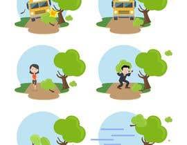 #7 para 6 custom vector graphic icons por farizibnus