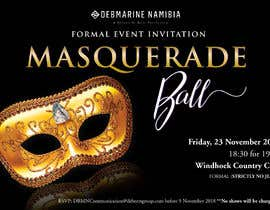 formal masquerade event invite freelancer